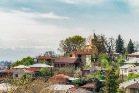 St. Georges Church, Kutaisi from different point of view.