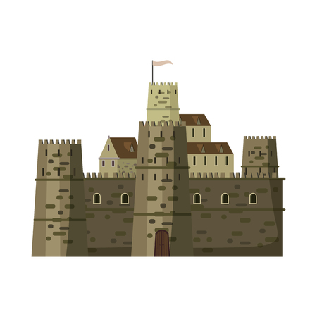Castle, fortress architecture middle ages Europe
