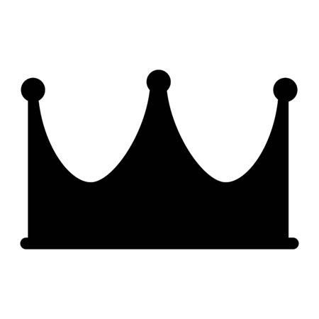 Crown Icon Royal, luxury symbol King, Queen. Vector illustration logo, app, UI isolated 일러스트