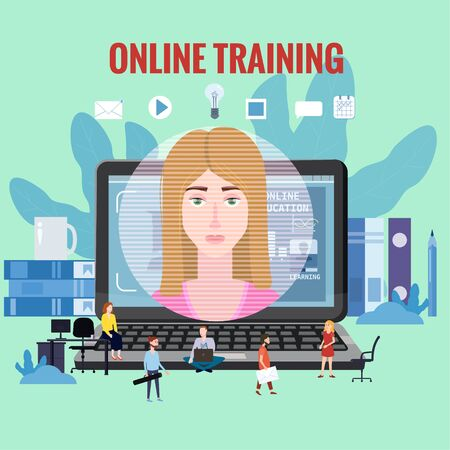 Online training coaching, education, workshops and courses.
