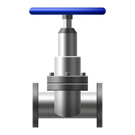 Boule de vanne, raccords, tuyaux de système de tuyauterie en métal. Vanne eau, pétrole, gazoduc, tuyaux d'égout