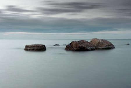 silence at baltic sea photo