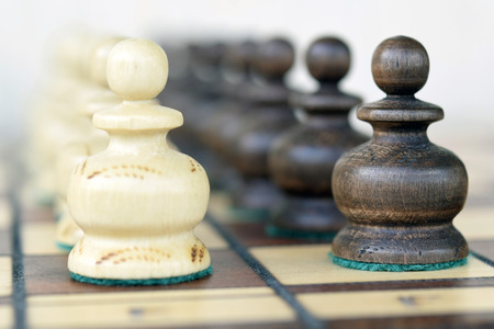 standoff: Chess. The pawns.