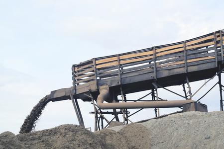 stacker: mining Stock Photo
