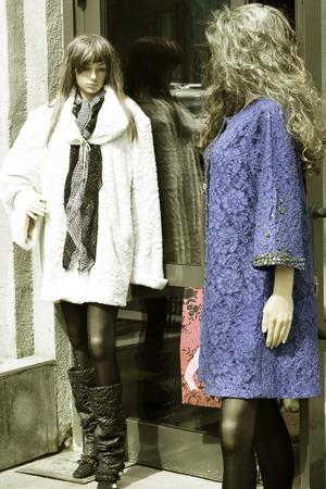 mannequins: mannequins Stock Photo