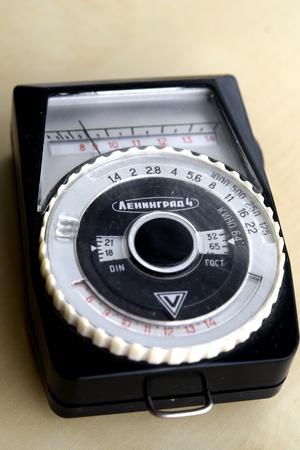exposici�n: el expos�metro Foto de archivo