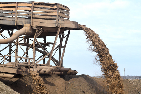 sift: Sand extraction for the production of