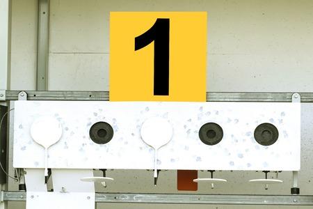 Biathlon. Target sports shooting ?1 Banco de Imagens