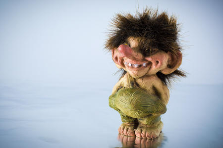norwegian: Statuette of Norwegian trolls