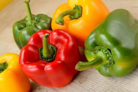 Mixed bell pepper