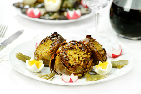 Artichokes appetizer photo