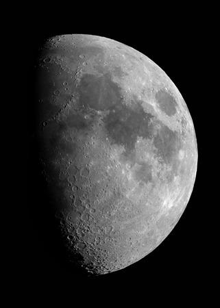 moon surface: Moon Stock Photo