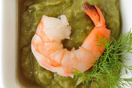 canape with shrimp photo