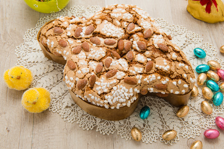 부활절 케이크 비둘기