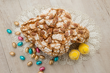 Easter dove cake