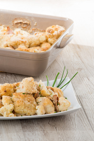 cauliflower gratin photo