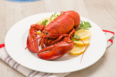 American lobster with shrimp