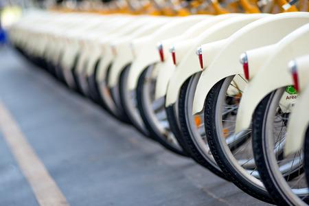 밀라노에서 자전거 공유