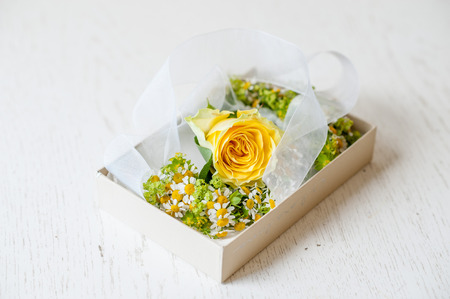 bridal bouquet: bracelet of flowers for the bride damigelel