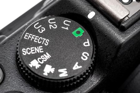 the switch: interruttori e manopole fotocamera Archivio Fotografico