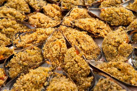 au: mussels au gratin