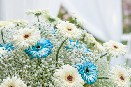 flowers for wedding photo