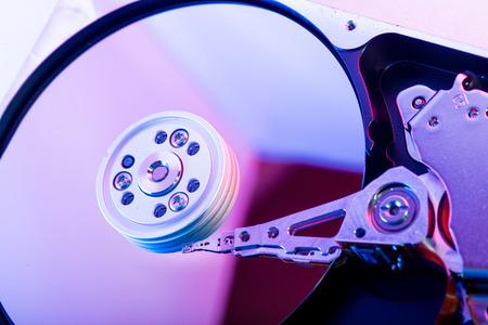 hard disk drive: Hard disk drive plate