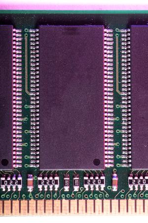 module: RAM memory module on white background