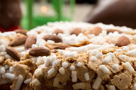 전통 이탈리아어 부활절 비둘기 케이크