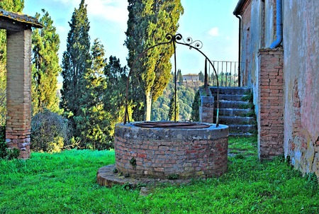 annexed: THE WELL IN VAL D ORCIA  SIENA