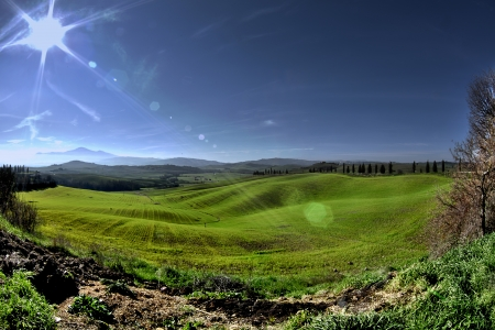 val d orcia: val d'Orcia platteland