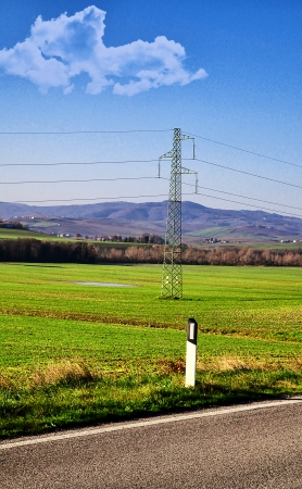 pylon high voltage Imagens - 21987699