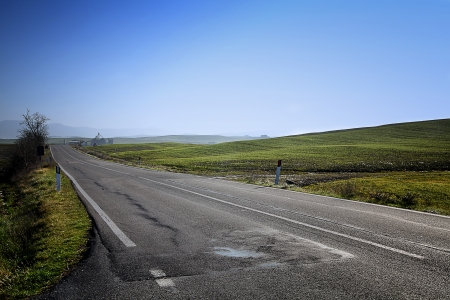 orcia: val d orcia road infinite