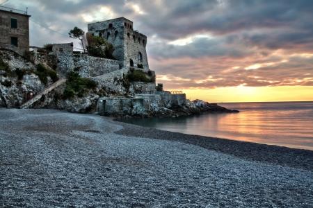 beack: tower Erchie Amalfy Coast