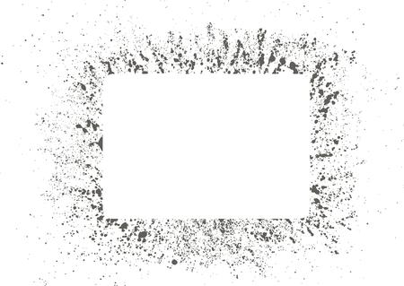 Inkblot background set