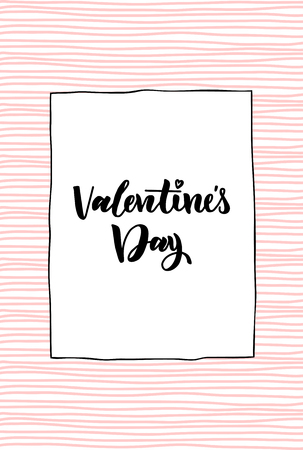 happy Valentine s day. design for holiday greeting card and invitation of the wedding, Valentine s day and Happy love day. Vector design