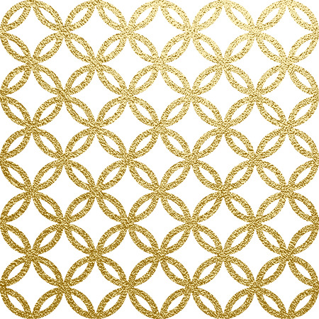 Golden glossy texture. Metal pattern. Abstract gold background