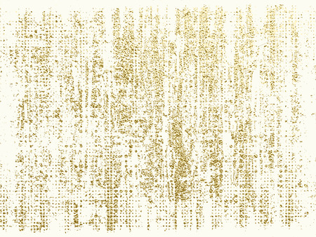 Gold texture. Abstract gold background. Distress, dirt texture . Simply place pattern over any object to create distressed effect. Vector illustration. Grunge background. Pattern with cracks. Illustration