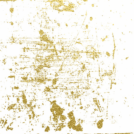 Distress Golden texture. Abstract gold background . Vector illustration. Grunge background. Pattern with cracks.