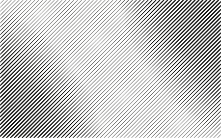 Black and white lines background. Light effect. Gradient background with lines . Halftone lines design. Vector isolated object for website, card, poster