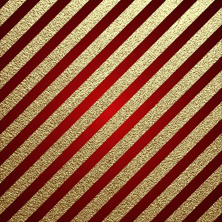 Gouden glanzende textuur. Metalen patroon. Gouden feestelijke achtergrond, wenskaart of inpakpapier. Vector Illustratie
