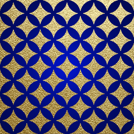 Golden glossy texture. Metal pattern. Gold festive background, greeting card or wrapping paper. Çizim