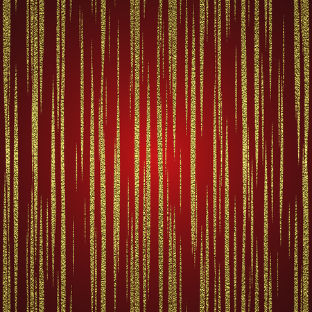 Golden glossy texture. Metal pattern. Gold festive background , for greeting card or wrapping paper.