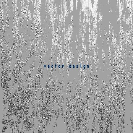 Silver glossy texture. Metallic pattern. Argent Grunge background Illustration