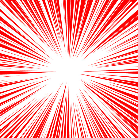 Explosive abstract rays. Dynamite burst blast vector background