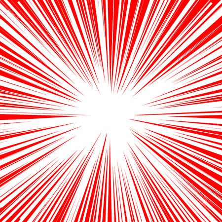 Explosive abstract rays. Dynamite burst blast vector background