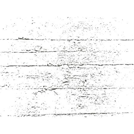 Wood grunge texture in black and white. Wooden background. Vector template. Grunge vector texture. Ilustração