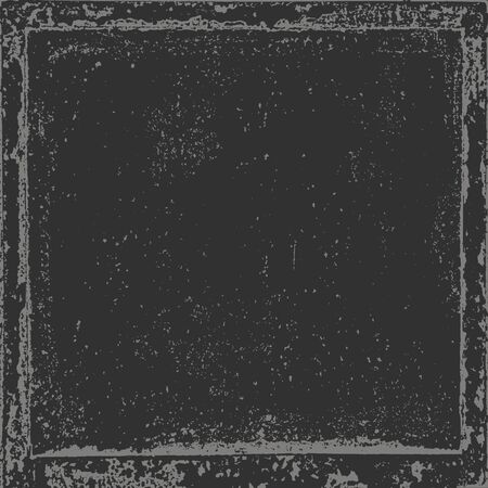 Grunge texture in black and white. Textured background.Vector template. Distress vector texture. Banco de Imagens - 133776639