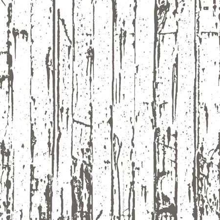Grunge wood texture in black and white. Textured background.Vector template. Distress vector texture. Banco de Imagens - 133776640