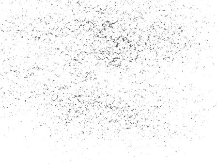 Grunge texture in black and white. Textured background.Vector template. Distress vector texture.